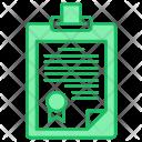 Contract Document Icon