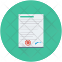 Contract Document Article Icon