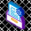 Document Treat Strategy Icon