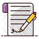 Contract Agreement Business Terms Icon