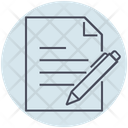 Business Contract Agreement Icon