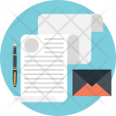 Contract Legal Document Icon