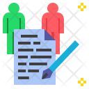 Contract Compact Agreement Icon