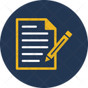 Contract Document Office Document Icon