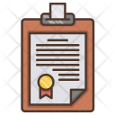Contract Investments Business Icon