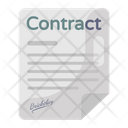 Business Contract Agreement Business Terms Icon