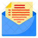 Contract Letter Message Icon