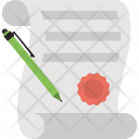 Contract Agreement Business Icon