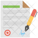 Agreement Contract Payment Icon