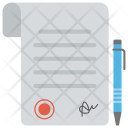Business Contract Deal Icon