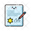 Contract Paper Agreement Icon