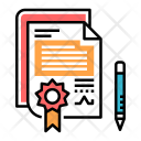 Contract Sign Agreement Icon
