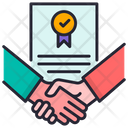 Contract Agreement Agreement Signature Icon