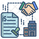 Contract Partnership Deal Icon