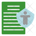 Contract Policy Insurance Icon