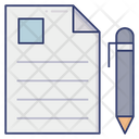 Contract Signature Agreement Icon