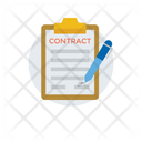 Contract Agreement Deed Icon