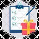 Contract Document Agreement Icon