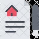 Contract Builder Building Icon