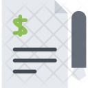 Contract Business Economy Icon