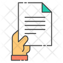 Contract Document Icon