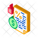 Contract Pawnshop Document Icon