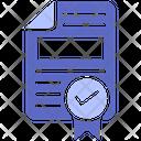Contract Document Document Contract Icon