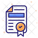 Contract Document Contract File Contract Paper Icon