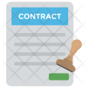 Contract Letter Icon