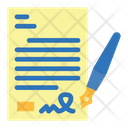 Contract paper Icon