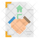 Contract Certificate Patent Icon
