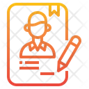 Contract Human Resource Sign Icon