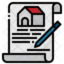 Document Contract Paper Icon