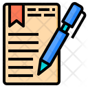 Contract Document Email Icon