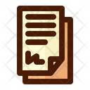 Contract Papers Icon