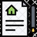Contract Repair Construction Icon