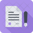 Contract Seo Business Icon