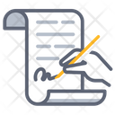Contract sign Icon