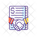 Contract Success Agreement Icon