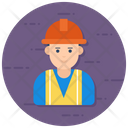 Worker Contractor Industry Worker Icon