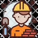 Contractor Profession Professional Icon