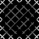 Black White Color Icon