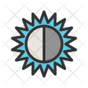 Contrast Function Brightness Icon