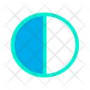 Contrast Contrast Control Contrast Level Icon