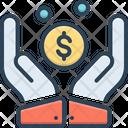 Contribute Economy Budget Icon