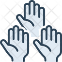 Contribution Benefaction Volunteer Icon
