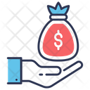 Contributions Funding Donations Icon