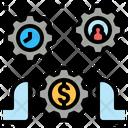 Control Manage Process Icon