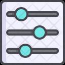 Control Adjustment Filter Icon