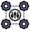 Control Management System Icon